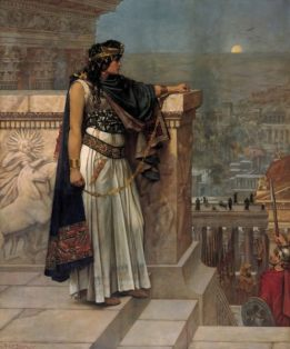 Zenobia Last Look Upon Palmyra