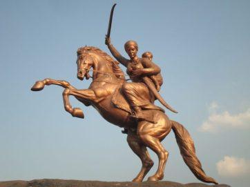 Statue at Solapur