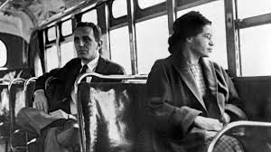 rosa on bus