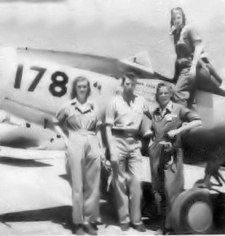 Avenger_Field_-_WASP_Trainees_wth_a_Fairchild_PT-19
